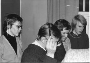 Mannilantien Nuorisotalolla - 70-luvun lopulla ?