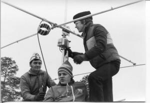Kerhon katolla 1981 - uusi suunta-antenni