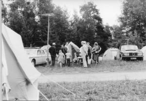 SRALn kesäleiri 1970-luvulla