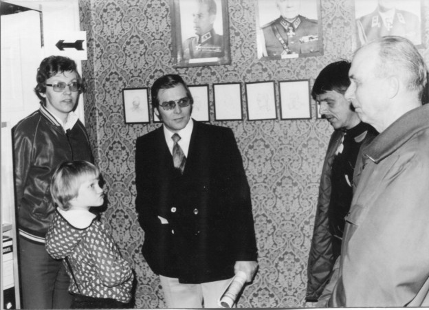 Vierailu Riihimäen Viestimuseolla 4/1980